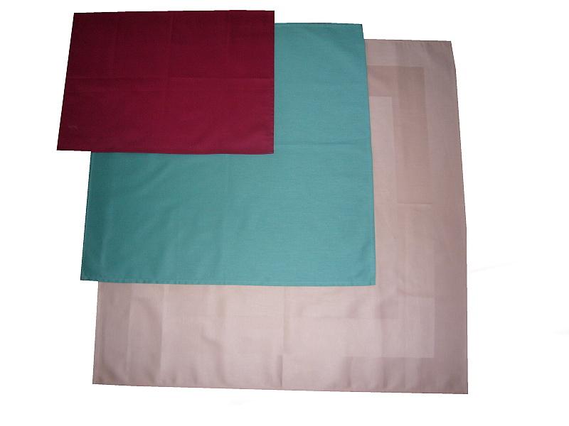 Ubrus bavlna zelený 70x70 cm