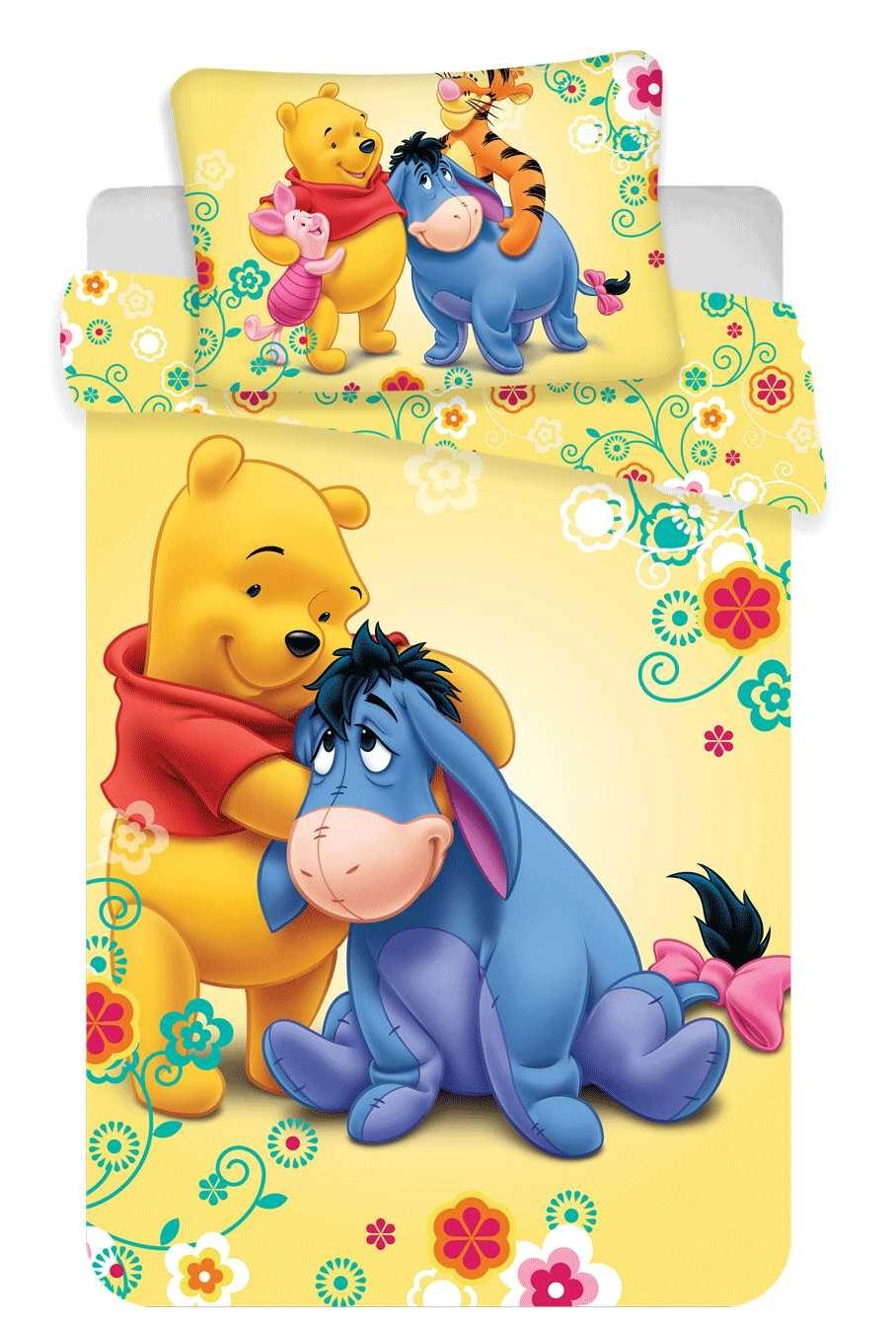 Disney povlečení do postýlky WTP baby 100x135, 40x60 cm