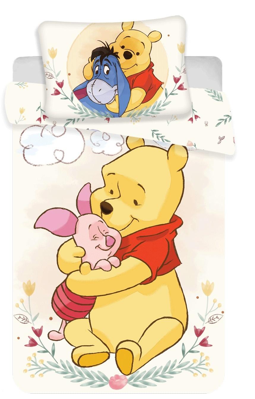 Disney povlečení do postýlky WTP cute baby 100x135, 40x60 cm