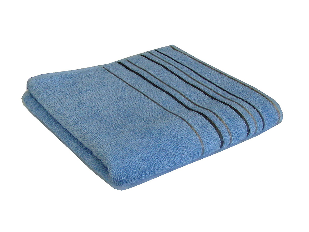 Osuška Zara 70x140 cm světle modrá
