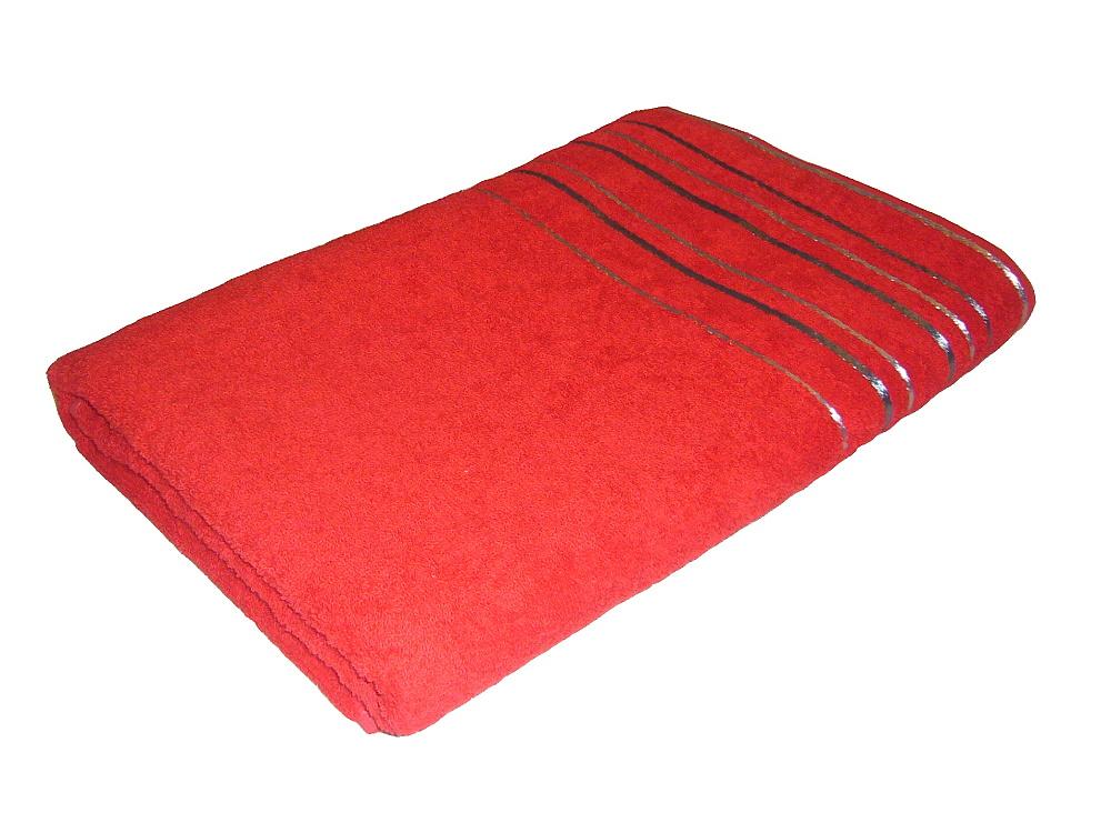Ručník Zara 50x100 cm červená