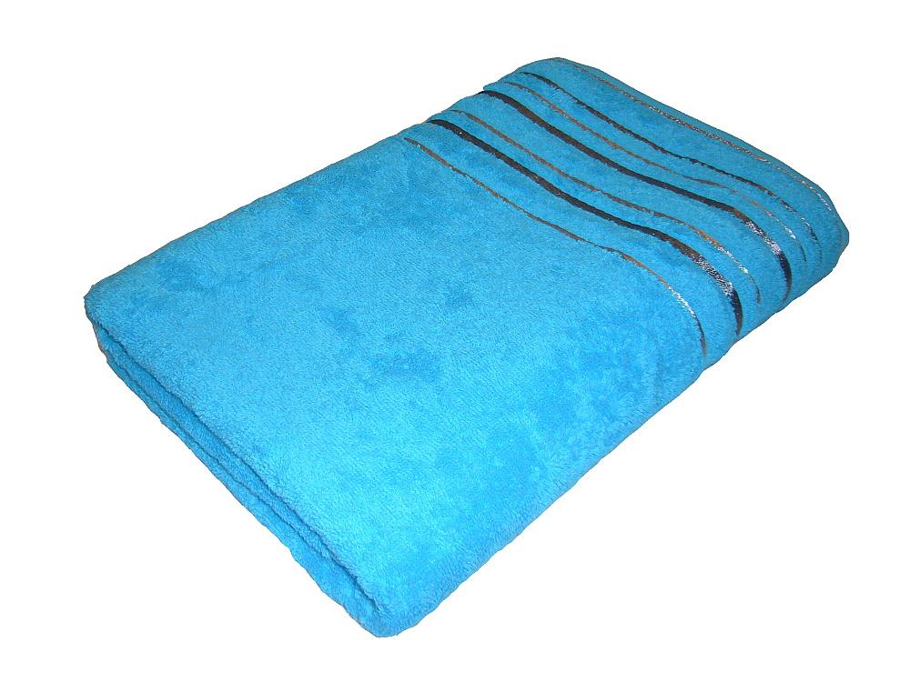 Ručník Zara 50x100 cm tyrkysový