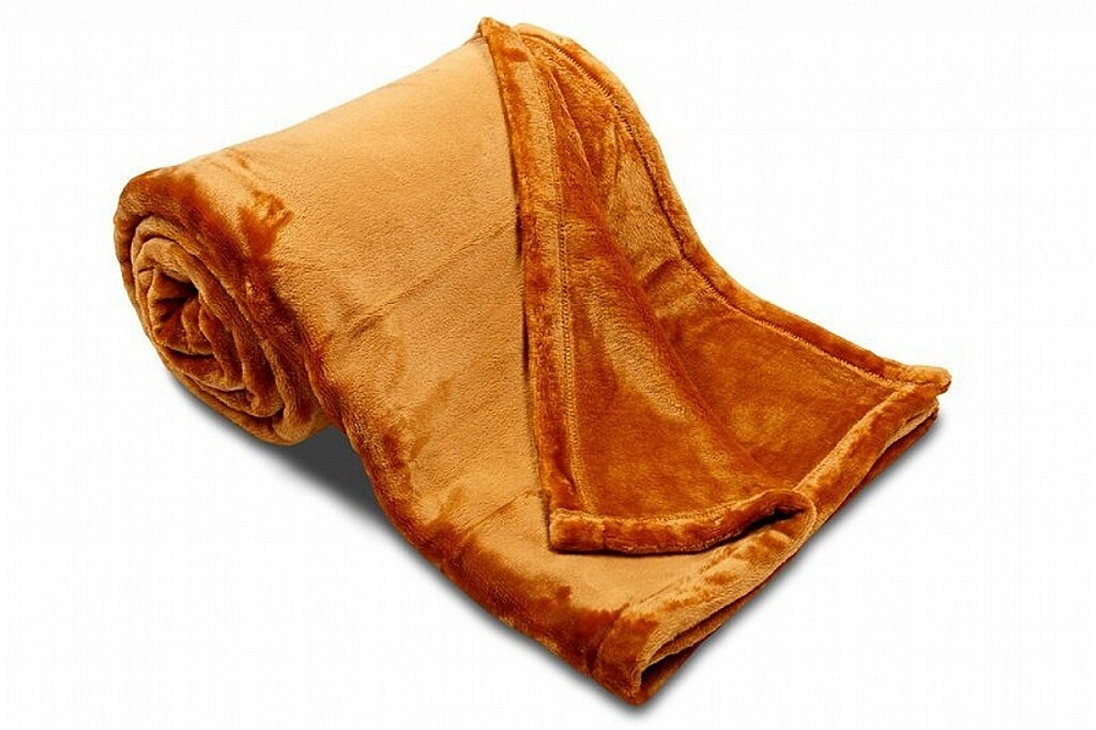 Deka MF UNI SLEEP WELL okrová 150x200 cm