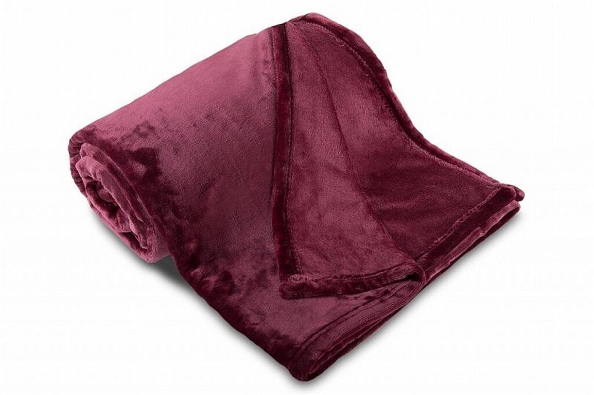 Deka MF UNI SLEEP WELL tmavě fialová 150x200 cm