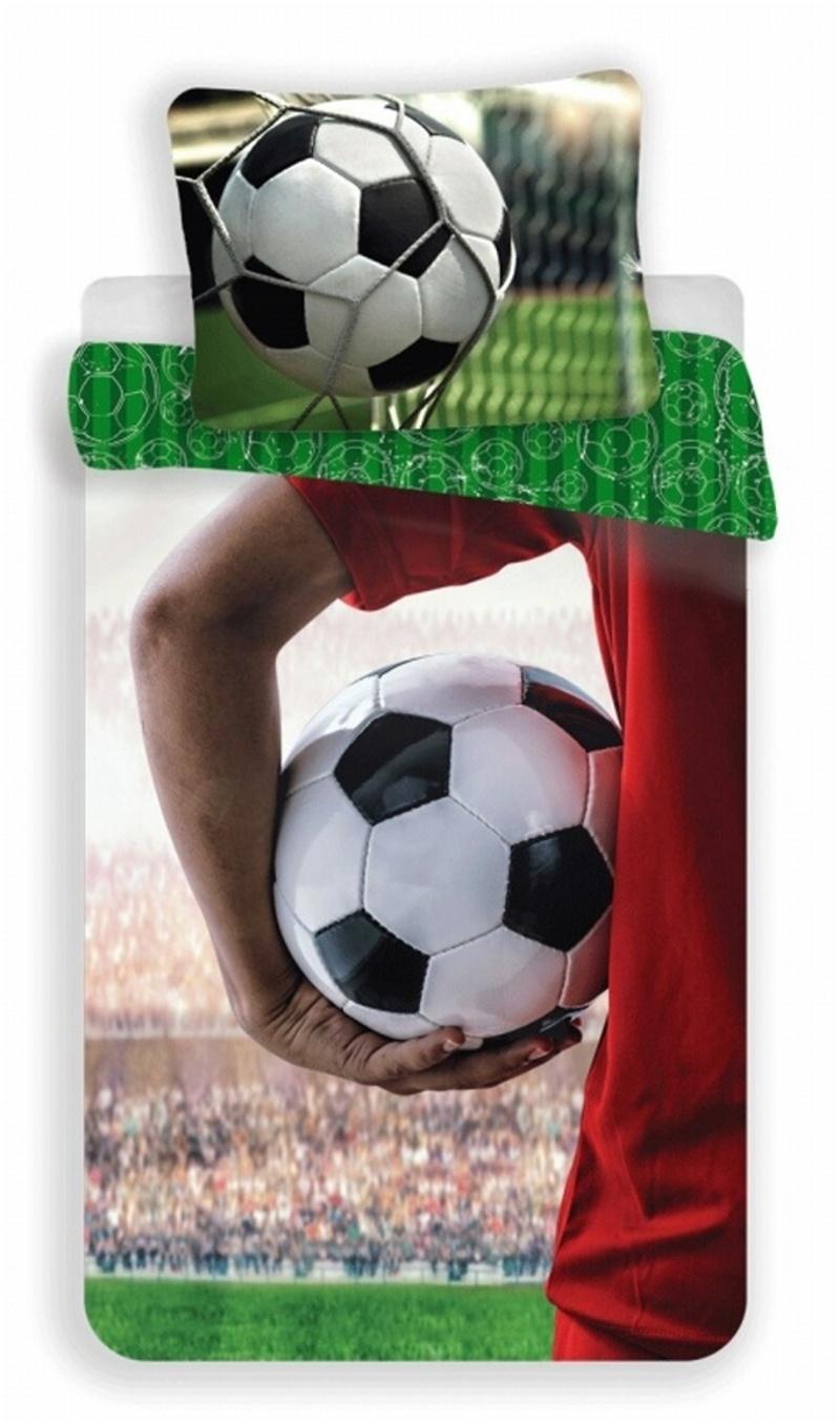 Povlečení fototisk Fotbal 02 140x200, 70x90 cm