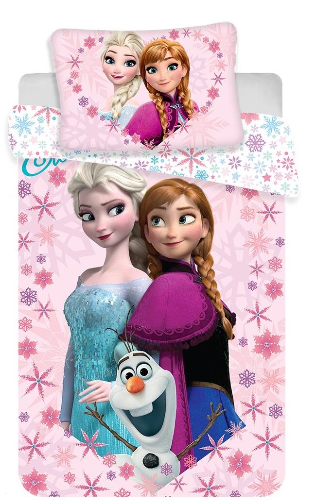 Disney povlečení do postýlky Frozen baby 100x135, 40x60 cm