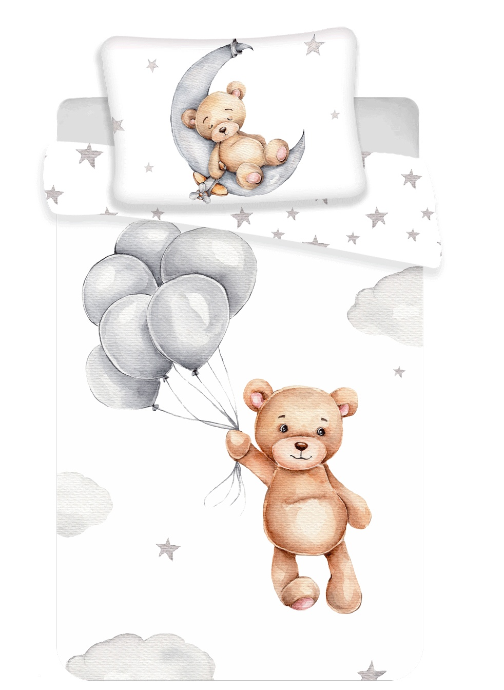 Disney povlečení do postýlky Medvídek baby 100x135, 40x60 cm