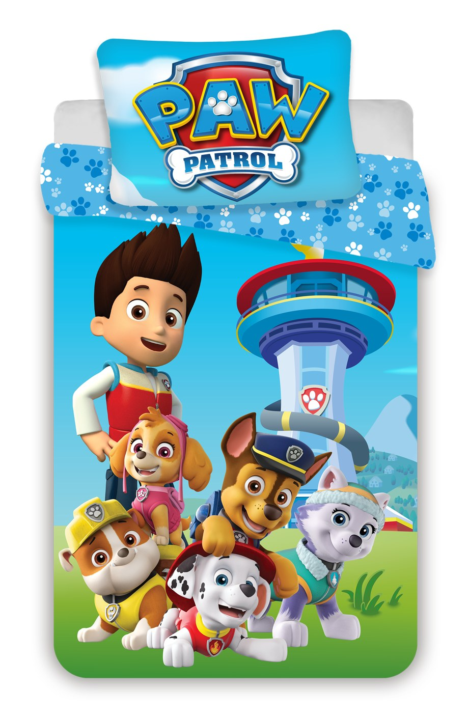Disney povlečení do postýlky Paw Patrol 1015 baby 100x135, 40x60 cm