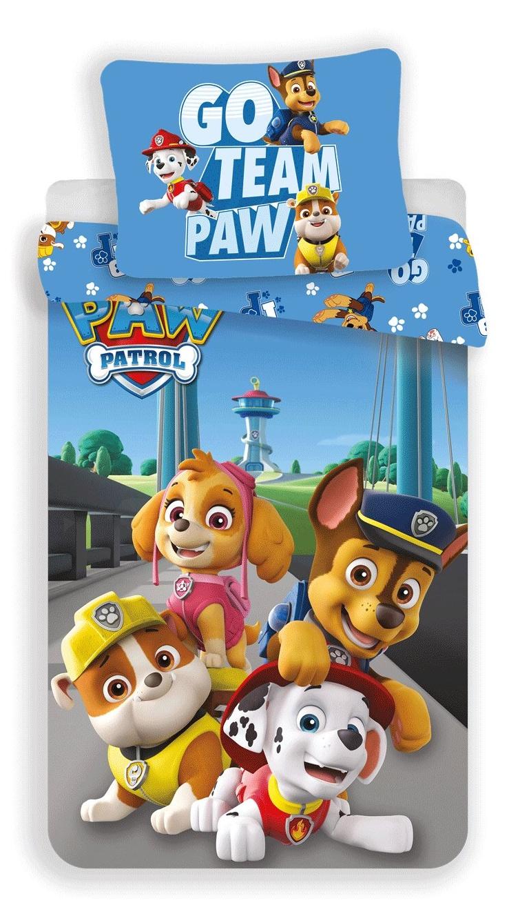 Povlečení Paw Patrol 161 140x200, 70x90 cm