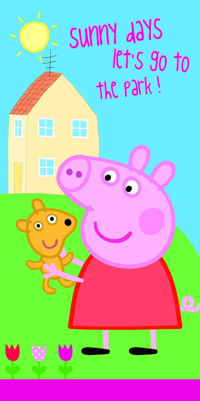 Osuška Peppa Pig 009 - 70*140
