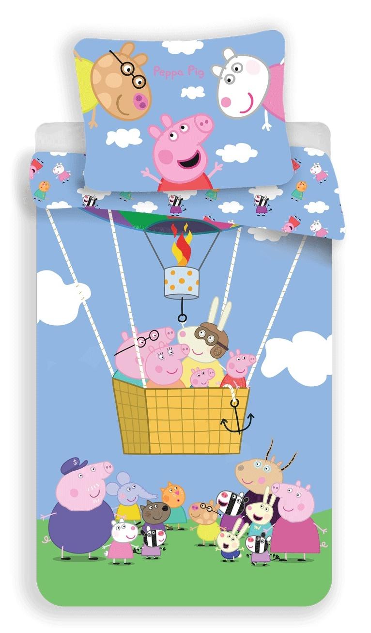 Povlečení Peppa Pig 001 140x200, 70x90 cm