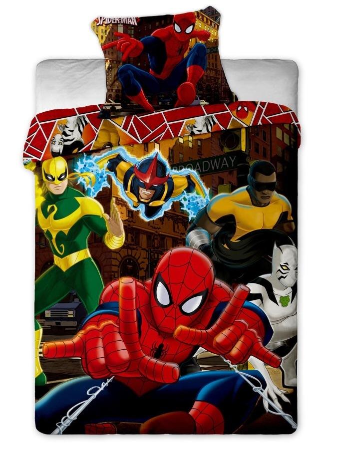 Povlečení Spiderman Hero 140x200 70x90