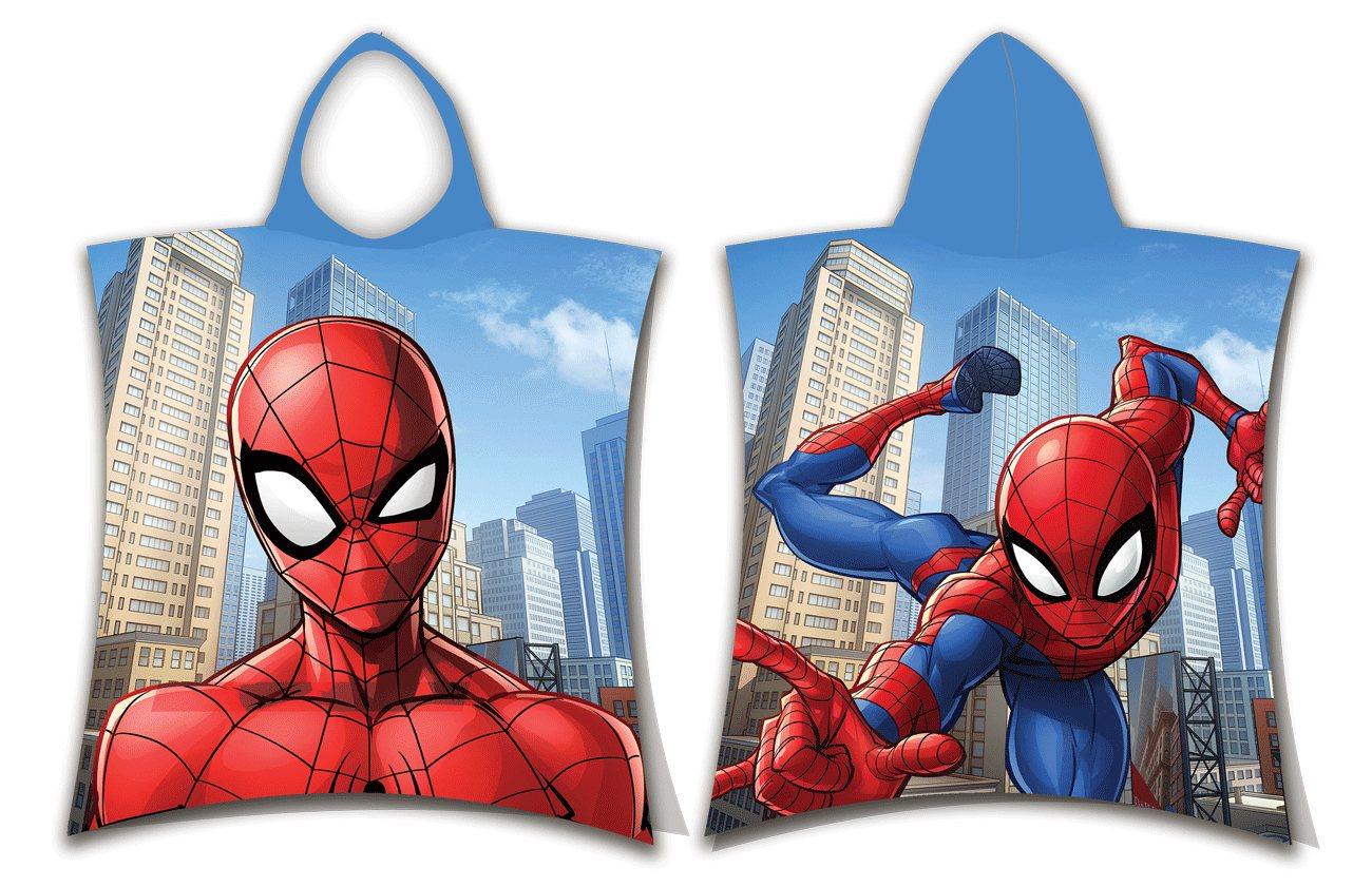 Pončo Spider-man Jump 50x115 cm