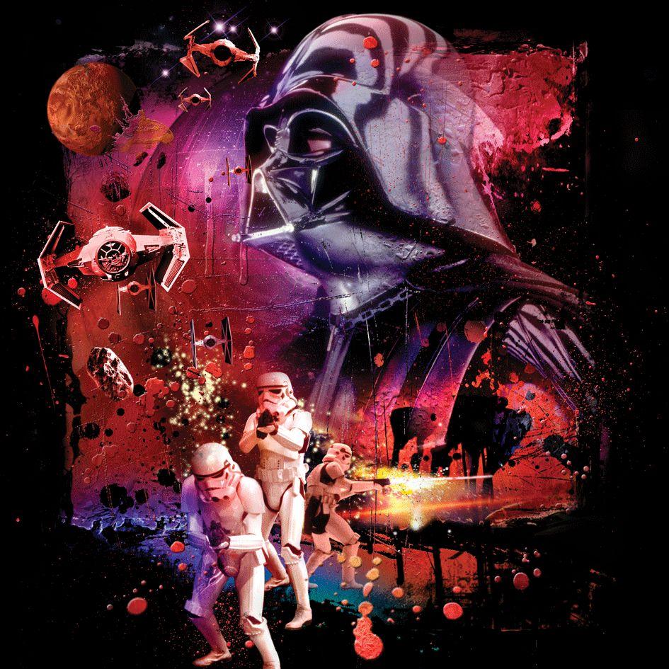 Povlak na polštářek Star wars dark power 40x40 cm