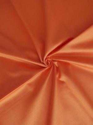 Povlečení satén oranžová 140x220 cm povlak