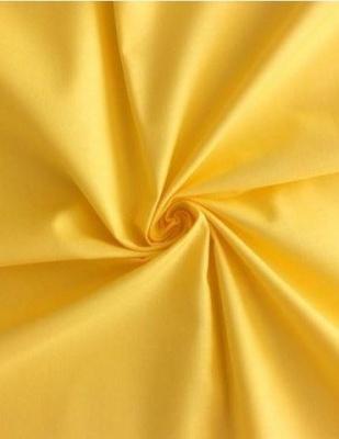 Povlečení satén žlutá 140x200, 70x90 cm