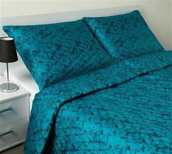 Povlečení Apollo abstrace vodní modrá 140x200, 70x90 cm