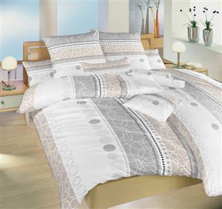 Povlečení bavlna Ateliér béžový 140x200, 70x90 II.jakost
