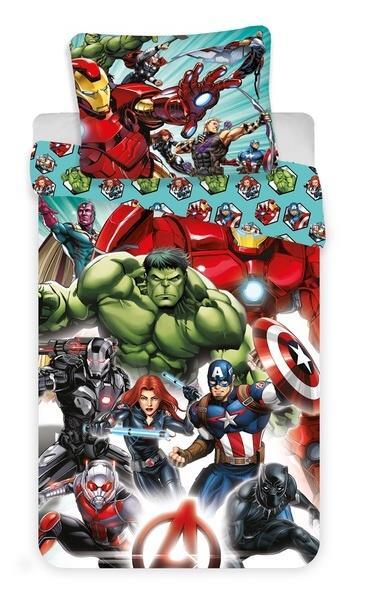 Povlečení Avengers Comics 140x200, 70x90 cm