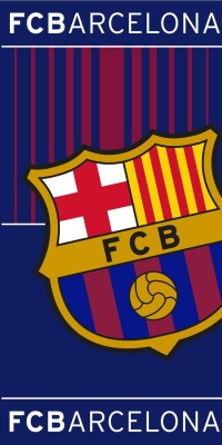 Osuška FC Barcelona 05 70x140 cm