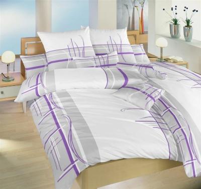 Povlečení bavlna Beethoven fialový 140x200, 70x90 cm