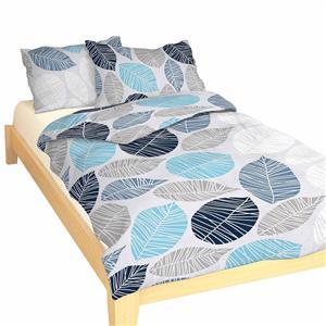 Povlečení bavlna Boris modrý 140x200, 70x90 cm II.jakost