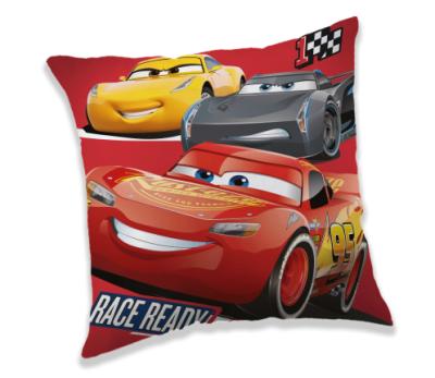 Polštářek Cars 3 race ready 40x40 cm