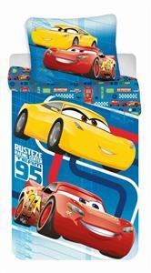 Povlečení Cars blue 02 140x200, 70x90 cm