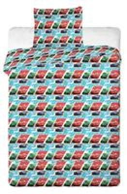 Povlečení Disney do postýlky Cars blue kids 2013 90x130, 40x60 cm