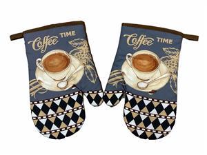 Kuchyňská chňapka 2 ks Coffee time 18x27 cm