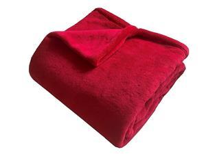 Super soft deka Dadka červená 150x100 cm
