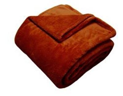 Super soft deka Dadka cihlová 150x100 cm