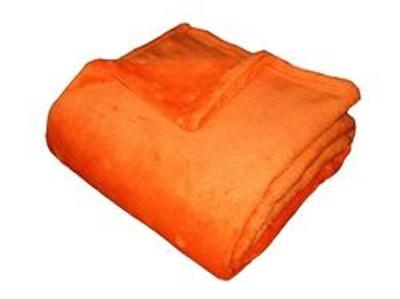 Super soft deka Dadka oranžová 150x100 cm