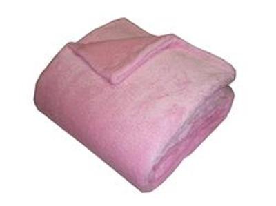 Super soft deka Dadka růžová 150x100 cm