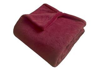 Super soft deka Dadka bordó 150x100 cm