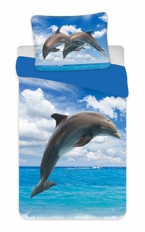 Povlečení fototisk Delfín 02 140x200, 70x90 cm