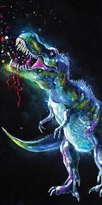 Osuška Dinosaur 70x140 cm