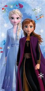 Osuška Frozen 2 snowflake 70x140 cm
