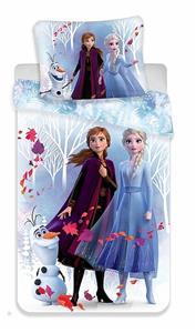 Povlečení Frozen 2 White 140x200, 70x90 cm