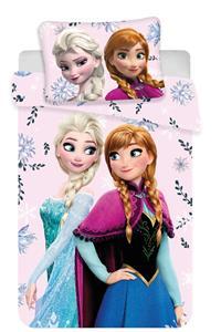 Disney povlečení do postýlky Frozen baby Floral 100x135, 60x40 cm