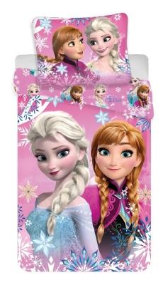 Povlečení Frozen sisters 02 140x200, 70x90 cm