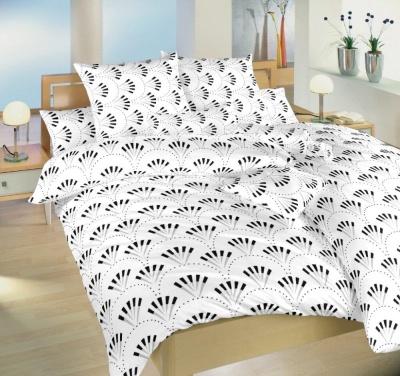 Povlečení bavlna Gabru bílý 140x200, 70x90 cm