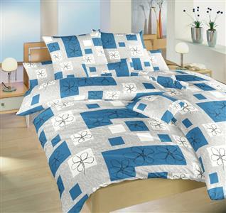 Povlečení bavlna Gobelín modrý 140x240 cm povlak