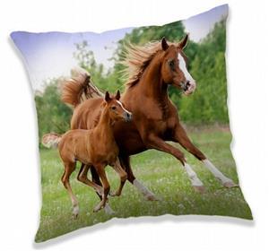 Polštářek Horse brown 40x40 cm