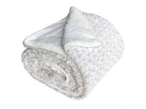 Deka mikrovlákno Ovečka melír smetanová 150x200 cm