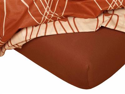 Jersey prostěradlo nugát  80x140x10 cm