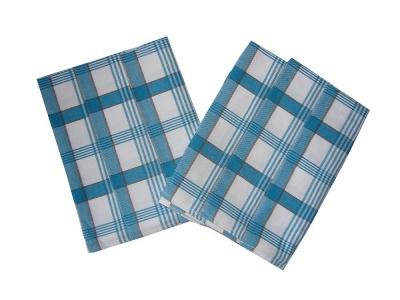 Utěrka Extra savá 50x70 Káro modré 3 ks