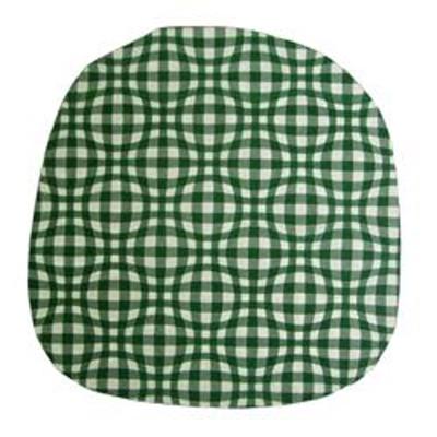 Povlak na kuchyňský sedák Kostka zelená