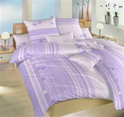 Povlečení bavlna Kostky fialové 50x70 cm povlak