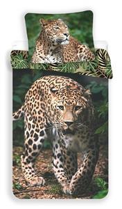 Povlečení fototisk Leopard green 140x200, 70x90 cm